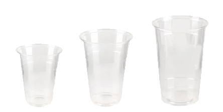 Disposable cold drinks cups