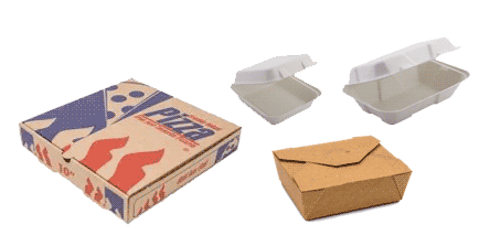 Take away Fast Food Containers