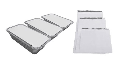 Foil Take away Containers