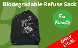 Bio-Degradable Black Sacks