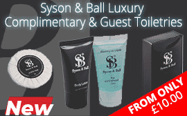 Syson & Ball Complimentary Toiletries