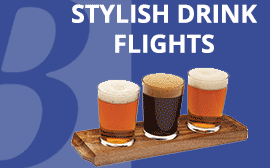 Stylish Drink Flights