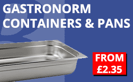Gastronorms Containers and Pans