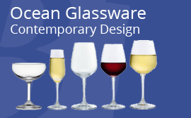 Ocean Wine & Champagne Glasses