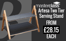 Master Class Two Tier Serving Stand