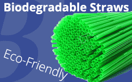 Bio-Degradable Straws