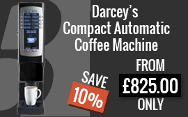 Darcey's Compact Automatic Coffee Machine