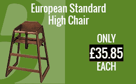 European Standard High Chair