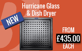 Hurricane Glass & Dish Dryer