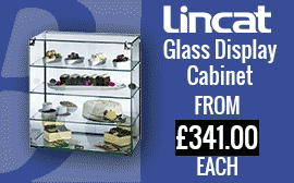 Lincat Glass Display Cabinet